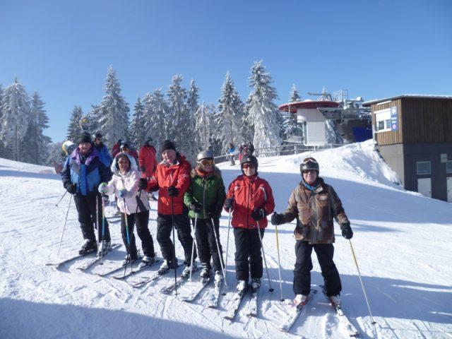 Skitage Langewiese, Winterberg