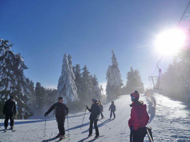 Skitage-Langewiese  Februar 2015